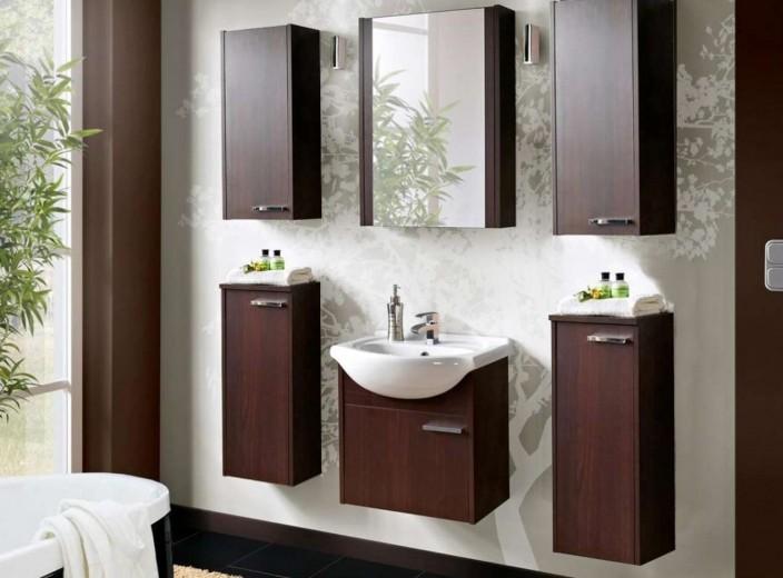 Set Mobilier pentru baie, 7 piese, New York