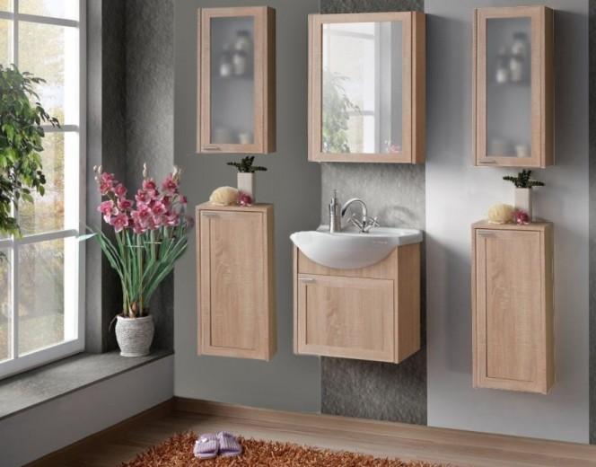 Set Mobilier pentru baie, 7 piese, Piano