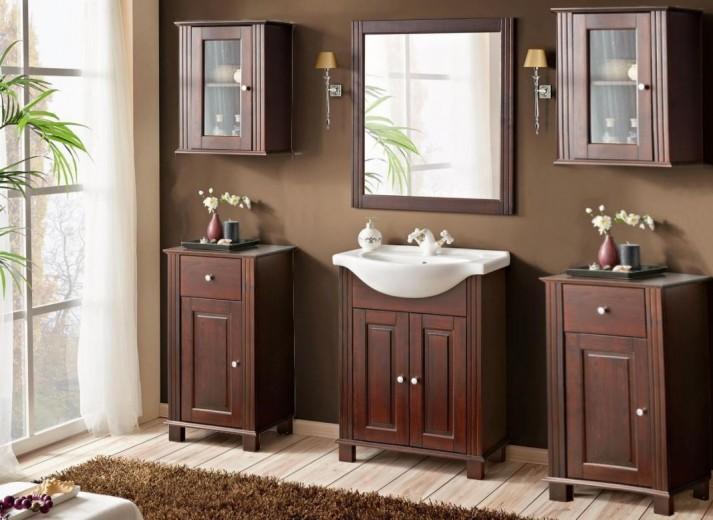 Set Mobilier pentru baie, 7 piese, Retro