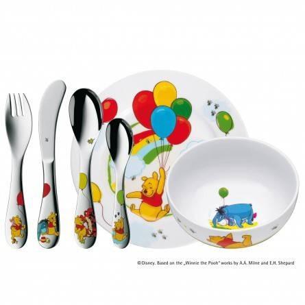 Set tacamuri pentru copii Winnie Pooh 6 piese