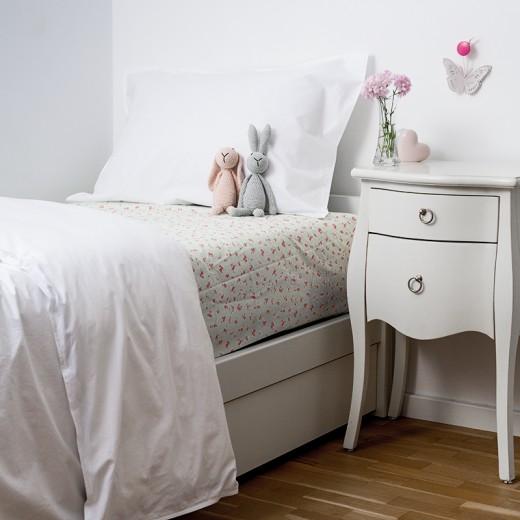 Lenjerie de pat copii White & Grun