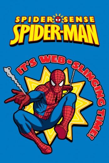 Covor Disney Kids Spider-Man Blue 951, Imprimat Digital