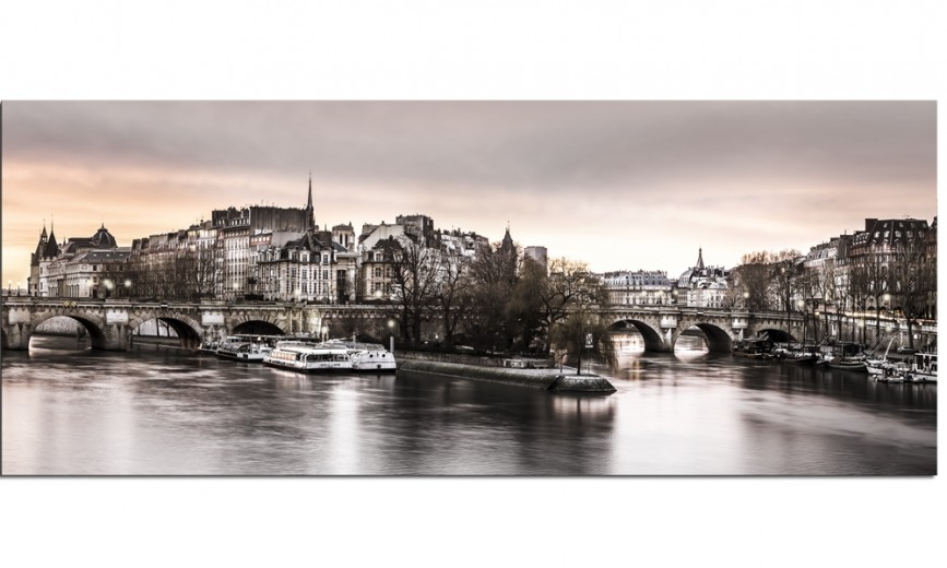 Tablou Canvas City Paris, 60x150 cm