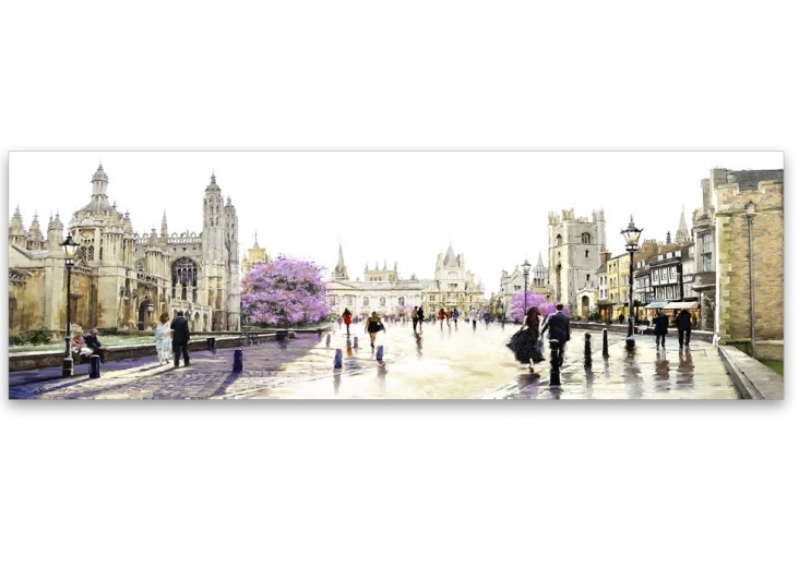Tablou Canvas Watercolor Cambridge