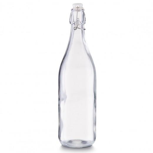 Sticla cu inchidere ermetica Regular, 1000 ml, Ø 8,5xH32 cm