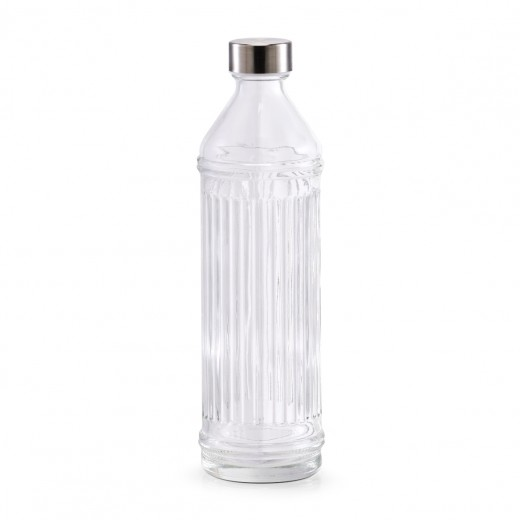 Sticla pentru apa Visual Transparent, 970 ml, Ø8,5xH30 cm