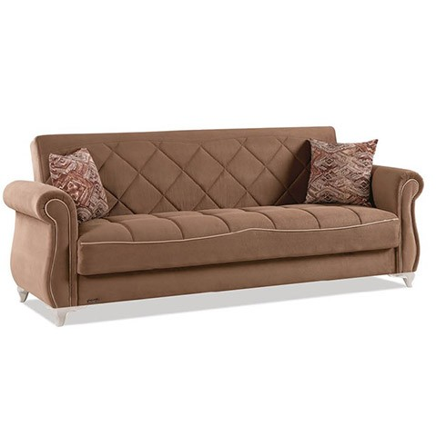 Canapea extensibila 3 locuri Style Brown K3