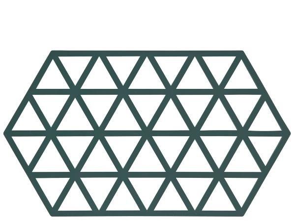 Suport din silicon pentru vase fierbinti Triangles Long Pastel, L24xl14 cm, Zone Denmark