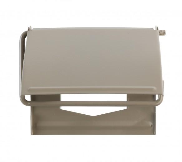 Suport pentru hartie igienica, Cover Grej, l13,5xA2,5xH12 cm