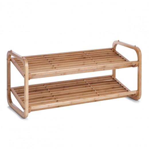 Suport pentru incaltaminte Regal, Natural Bamboo, l74xA33xH33 cm