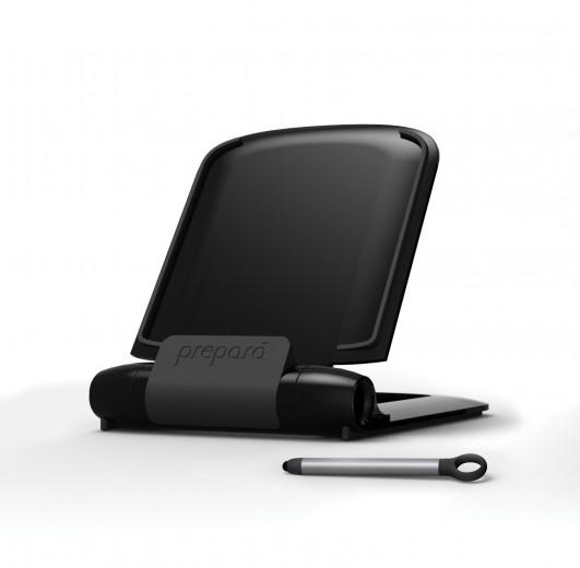 Suport tableta cu pix I-Prep Black, Prepara