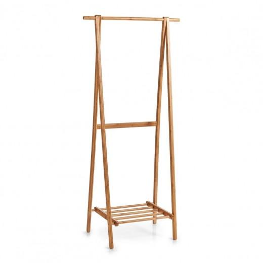 Suport umerase si incaltaminte, Rack Bamboo Natural, l73,5xA44,5xH159 cm