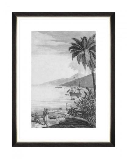 Tablou Framed Art Colonial Port II, 60 x 80 cm