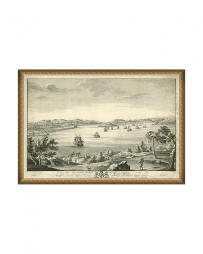 Tablou Framed Art Harbour of Antigua, 120 x 80 cm