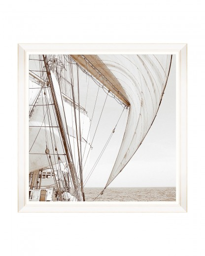 Tablou Framed Art Sailing High I, 80 x 80 cm