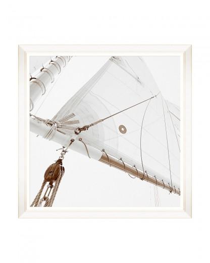 Tablou Framed Art Sailing High II, 80 x 80 cm