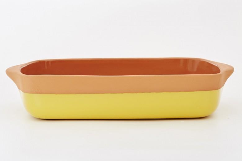 Tava ceramica Yellow, 32 x 23 cm, Jamie Oliver