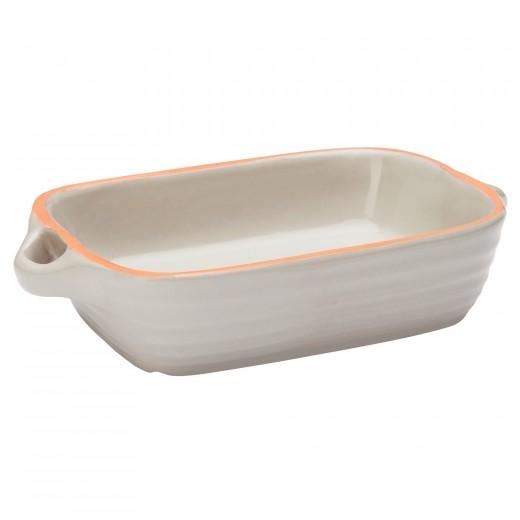 Tava cuptor din ceramica Cool Grey, 15 x 11 cm, Jamie Oliver