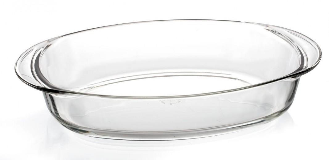 Tava din sticla ovala, Flirt, 36 x 25 cm