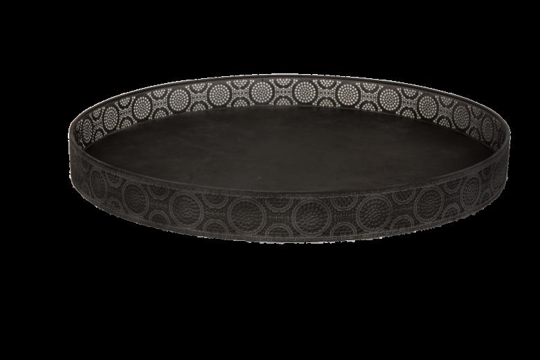 Tava metalica Atmosphere Black, Ø 50 cm