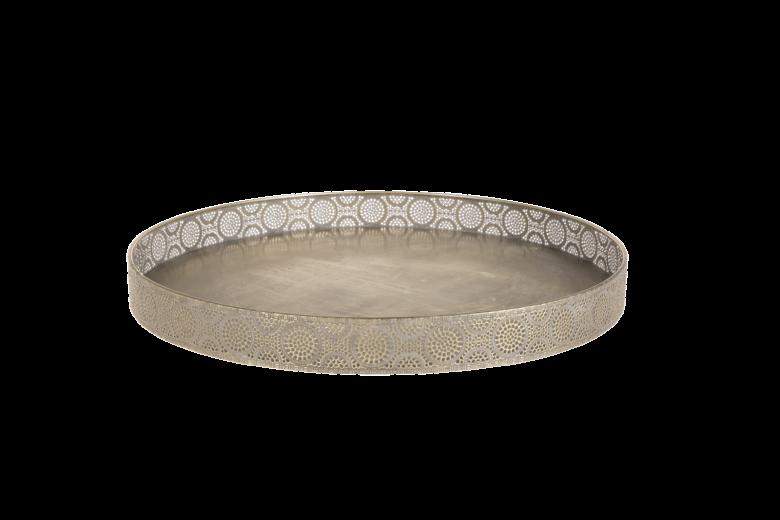 Tava metalica Atmosphere Gold Antique, Ø 50 cm