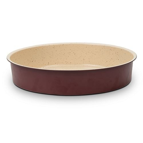 Tava pentru cuptor cu invelis ceramic, Terrestrial, Ø36xH7 cm