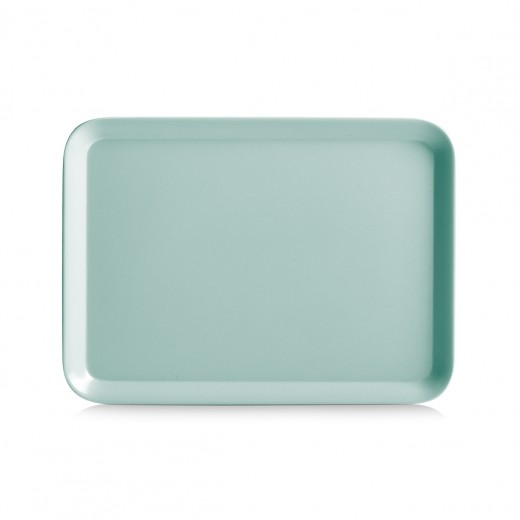 Tava pentru servire Aqua II, Melamina, l24xA18 cm-Verde Mint