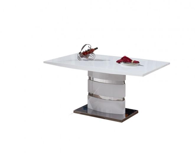 Masa din MDF Stain White, L160xl90xh76 cm