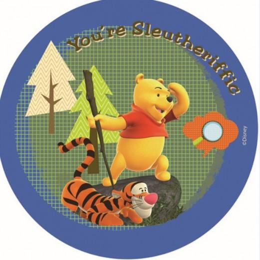 Covor Kids Tigger & Pooh Blue 604, Imprimat Digital
