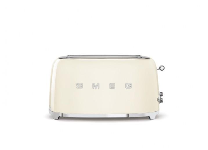 Toaster 2 sloturi TSF02CREU, Crem, Retro 50, SMEG