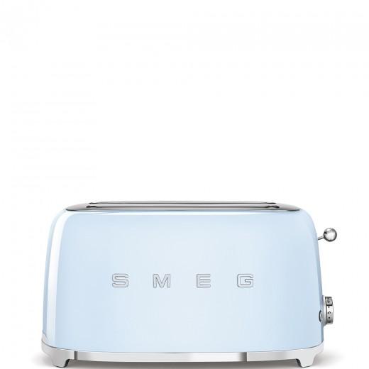 Toaster 2 sloturi TSF02PBEU, Albastru pastel, Retro 50, SMEG