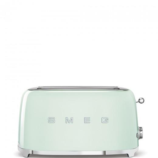 Toaster 2 sloturi TSF02PGEU, Verde pastel, Retro 50, SMEG