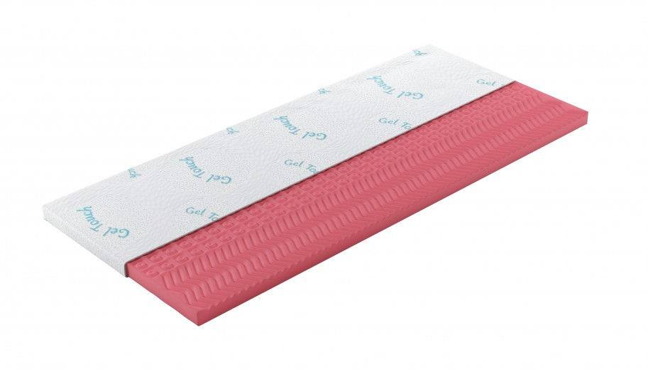 Topper Gel Touch Komfortschaum H4 cm