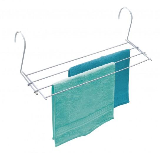 Uscator rufe pentru calorifer, cadru metalic, Dryer Alb, 2,4 m