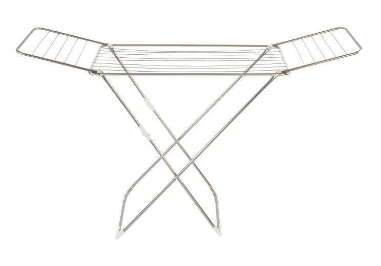 Uscator rufe pliabil, cadru metalic, Puro Crom, 18 m