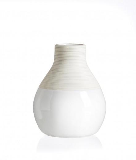 Set vaze Anna, Ceramica, Ø10xH12 cm, 4 piese