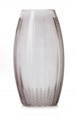 Vaza Boa Anthracite, Sticla, Ø14xH26 cm