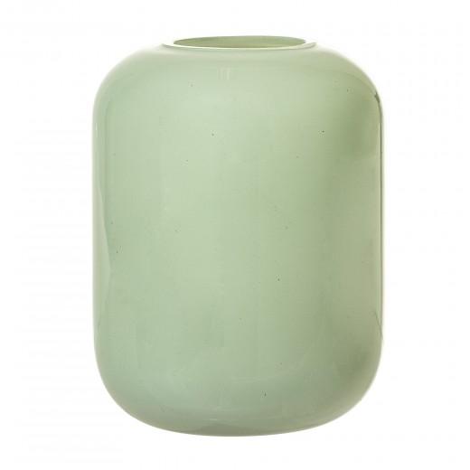 Vaza Green, Sticla, Ø8,5xH10,5 cm