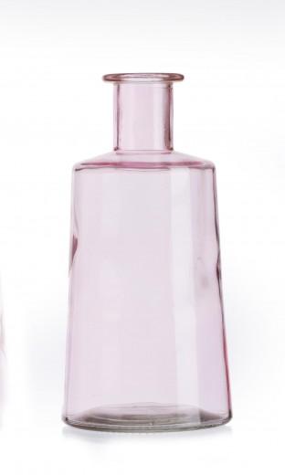 Set vaze Pico Rose, Sticla, Ø12xH24 cm, 2 piese