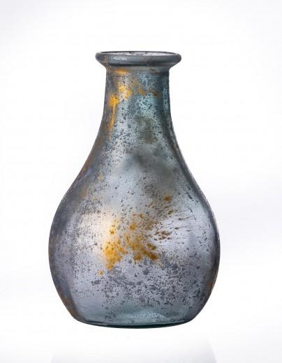 Vaza Rustic Gold, Sticla, Ø20xH23 cm