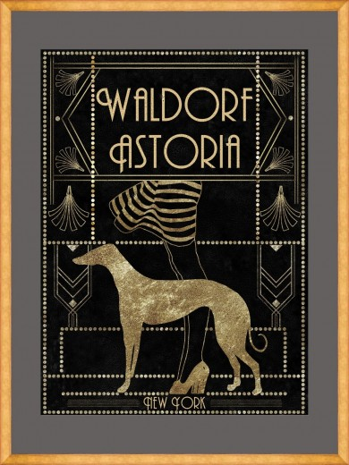 Tablou Framed Art Waldorf Astoria