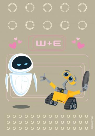 Covor Disney Kids Wall-E W+E 503, Imprimat Digital