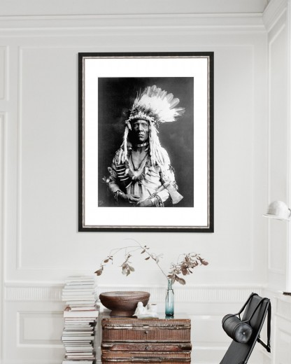 Tablou Framed Art Weasel Tail by Edward Curtis