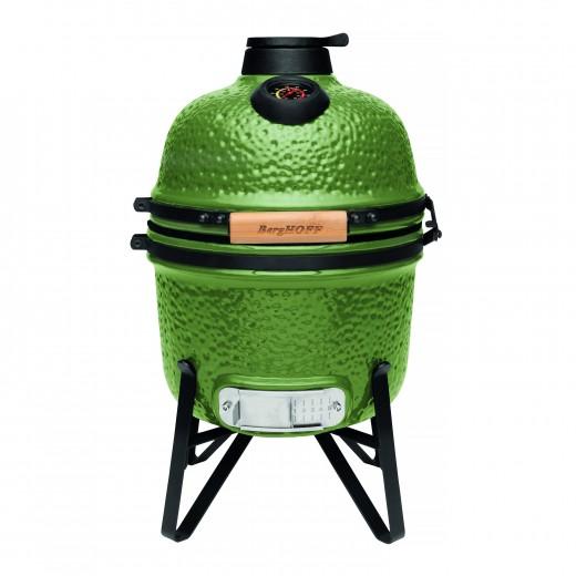 Grill BBQ Ceramic, Green, 27 cm, Studio Line