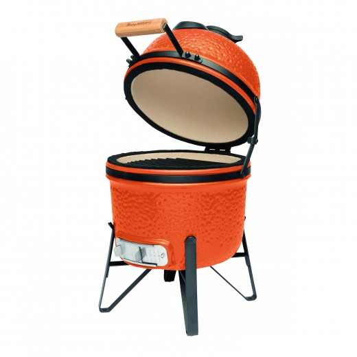 Grill BBQ Ceramic, Orange, 27 cm, Studio Line