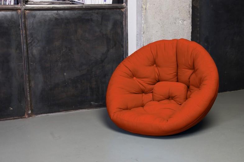 Fotoliu extensibil Nest Orange