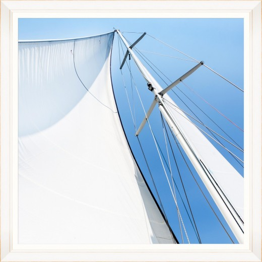 Tablou Framed Art White Sail I
