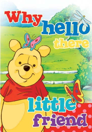 Covor Disney Kids Winnie the Pooh, Imprimat Digital-160 x 120 cm