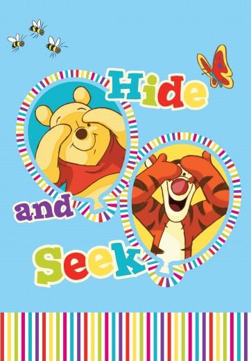 Covor Disney Kids Winnie the Pooh & Seek 907, Imprimat Digital