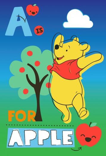 Covor Disney Kids Winnie The Pooh & Apple 910, Imprimat Digital